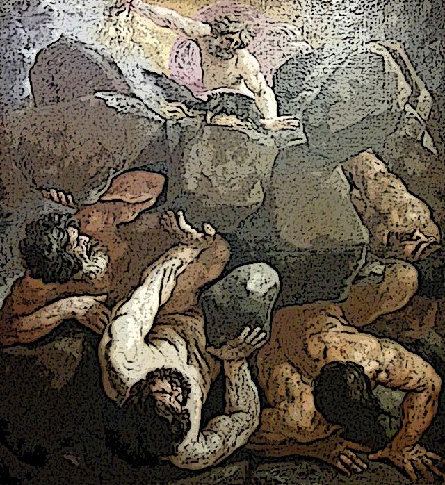 巨人たちの反乱-ギガントマキア