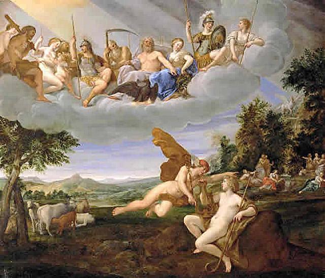 アポロンとメルクリウス