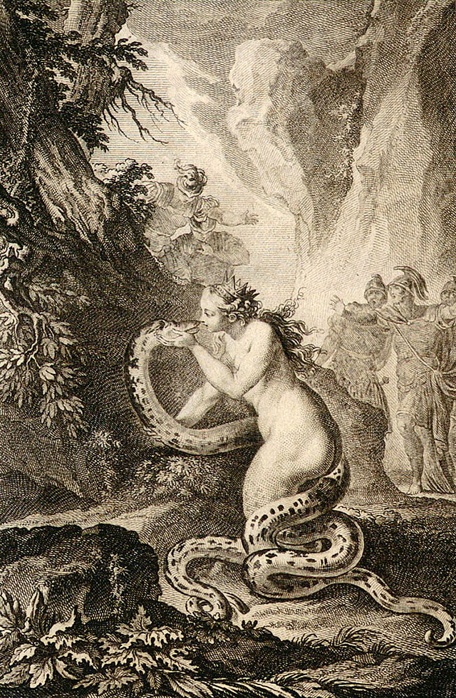 カドモスとハルモニア