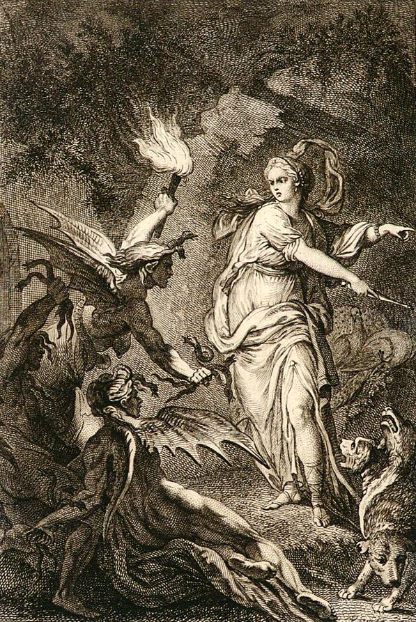 ユノと復讐の女神