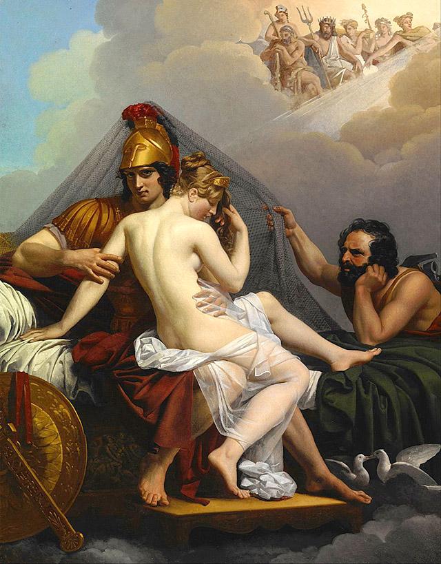 ウルカヌスに発見されるマルスとウェヌス