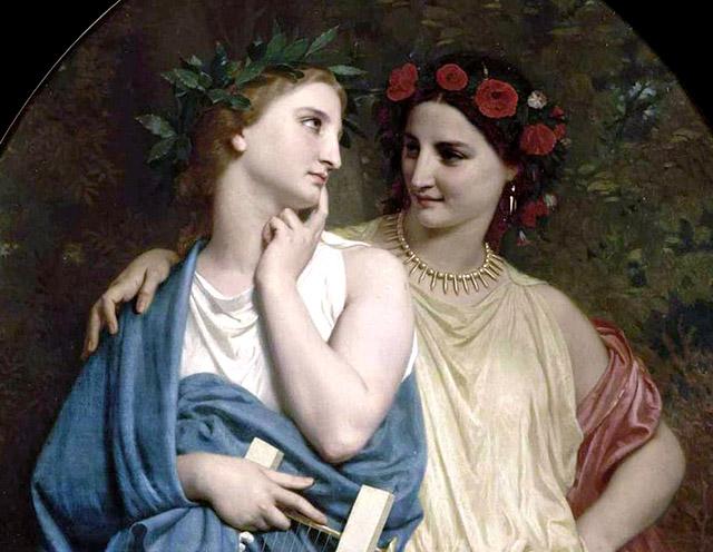 アテナイ王パンディオンの娘ピロメラとプロクネ