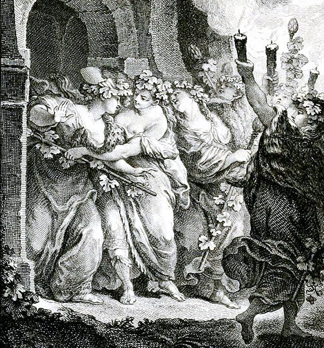 バッカス祭にピロメラを救うプロクネ