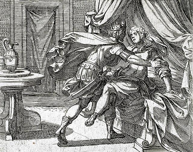 ピロメラを乱暴するテレウス