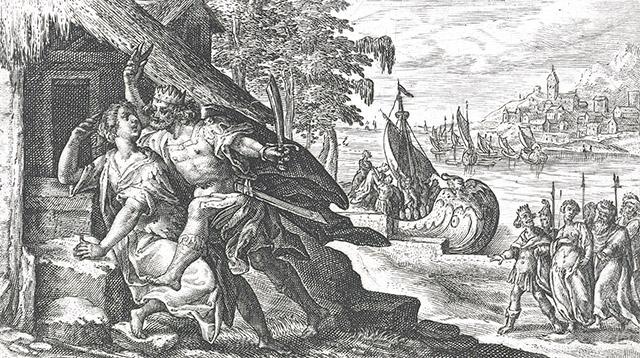 テレウス、ピロメラの舌を切る