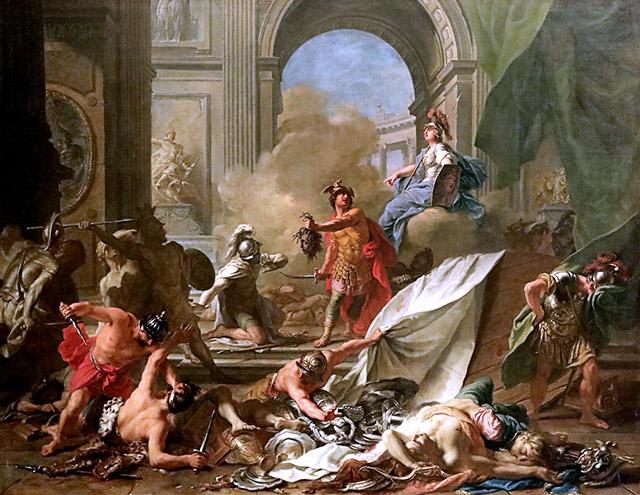 ペルセウス vs ピネウス