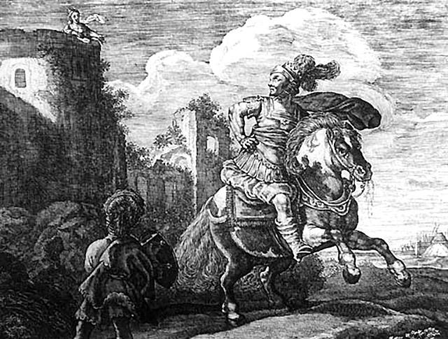 ーソス王の娘スキュラとミノス王